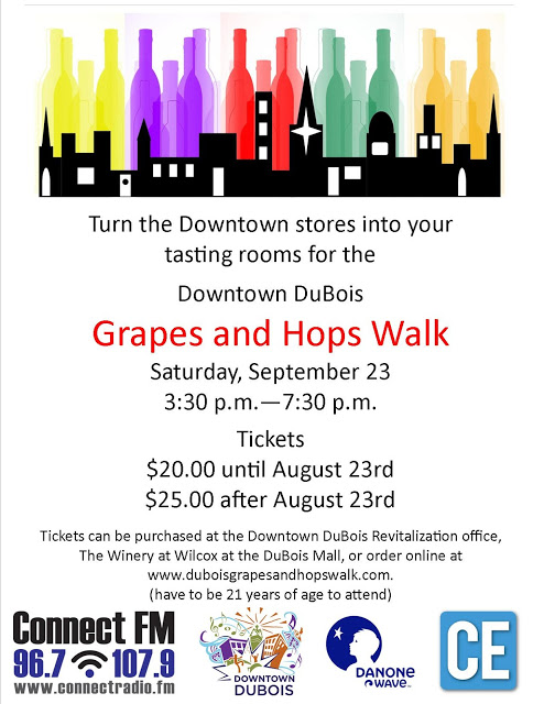 DuBois Grapes and Hops Walk
