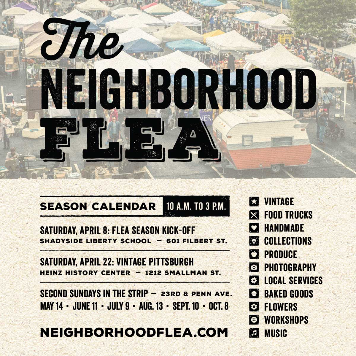 The Neighborhood Flea - Black Dog Wine Company
